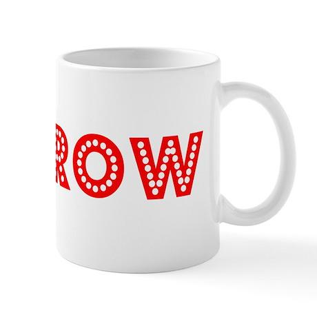 Retro Morrow (Red) Mug