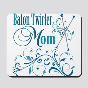 Baton Twirler Mom Mousepad