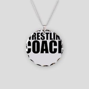 Trust Me, I'm A Wrestling Coach Necklace