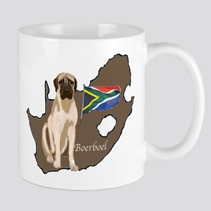 BOERBOEL MAP Mug