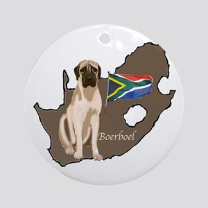 BOERBOEL MAP Ornament (Round)
