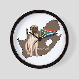 BOERBOEL MAP Wall Clock