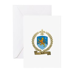 BARIL Family Crest Greeting Cards (Pk of 10)