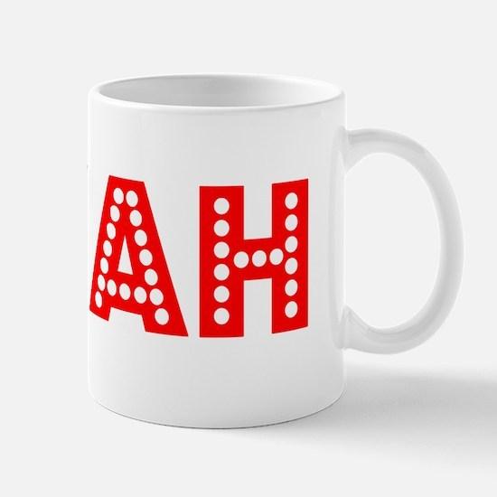 Retro Myah (Red) Mug