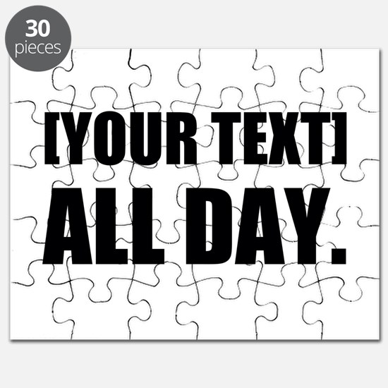 All Day Personalize It! Puzzle
