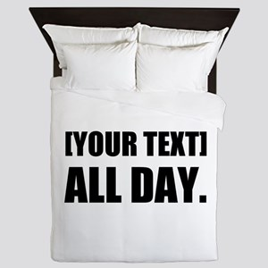 All Day Personalize It! Queen Duvet
