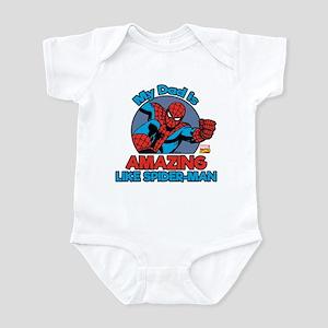 Spider-Man Amazing Dad Baby Light Bodysuit