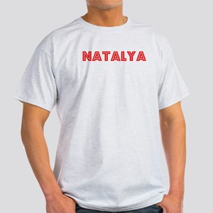 Retro Natalya (Red) Light T-Shirt