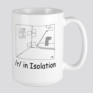 R in isolation Large Mug