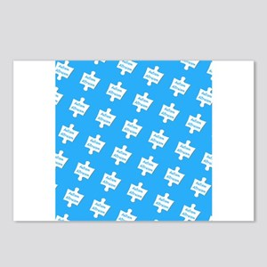Blue Practice Autism Altr Postcards (Package of 8)