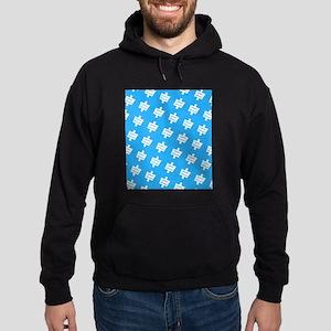 Blue Practice Autism Altruism Designer Sweatshirt
