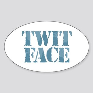 Twit Face Sticker