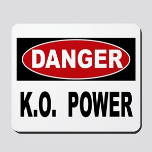 k.o power Mousepad