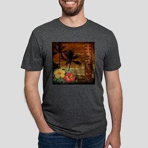 totem Hawaiian Hibiscus Flower T-Shirt