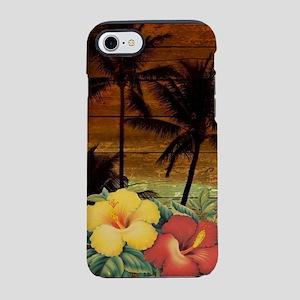 totem Hawaiian Hibiscus Flow iPhone 8/7 Tough Case