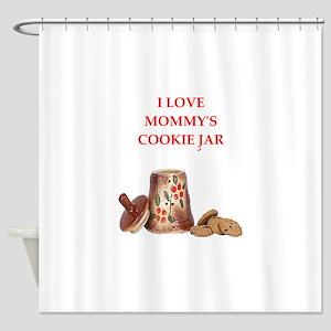 Funny joke Shower Curtain