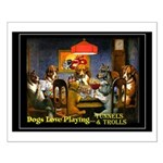 T&T DOGS Small Poster