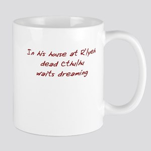 House at R'yleh (BigRed) Mug
