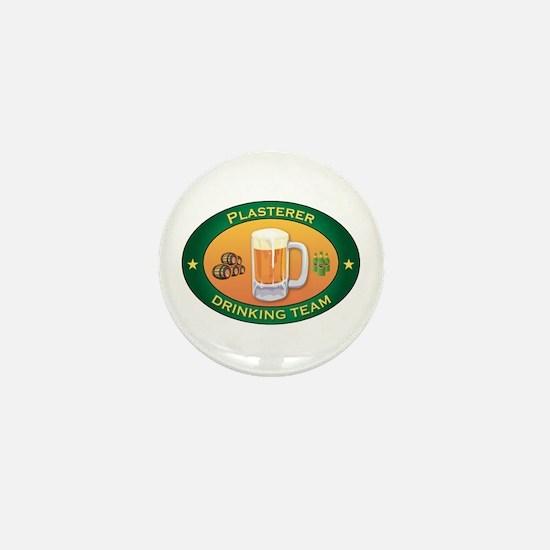Plasterer Team Mini Button