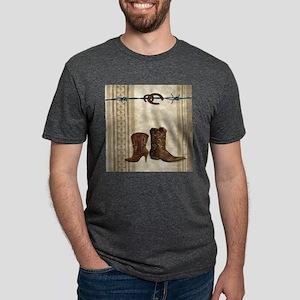 primitive western cowboy boots T-Shirt