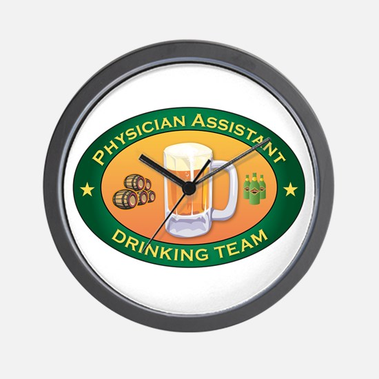 Physician Assistant Team Wall Clock