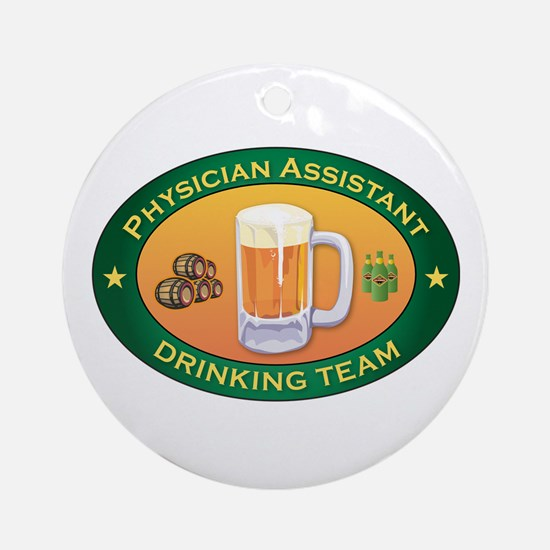 Physician Assistant Team Ornament (Round)