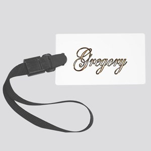 Gold Gregory Large Luggage Tag