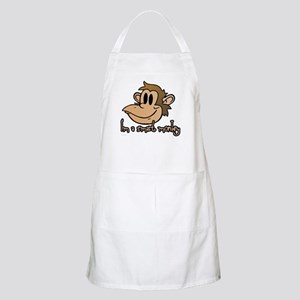 I'm a smart monkey BBQ Apron