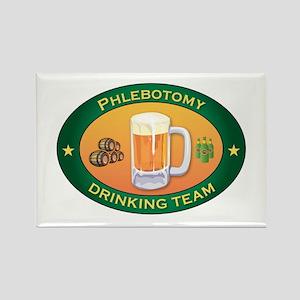 Phlebotomy Team Rectangle Magnet