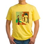 Free Shark SCUBA Dive Yellow T-Shirt