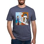 Free Shark SCUBA Dive Mens Tri-blend T-Shirt