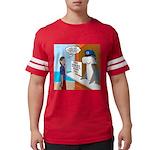 Free Shark SCUBA Dive Mens Football Shirt