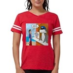 Free Shark SCUBA Dive Womens Football Shirt