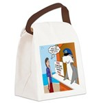 Free Shark SCUBA Dive Canvas Lunch Bag