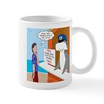 Free Shark SCUBA Dive 11 oz Ceramic Mug
