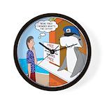 Free Shark SCUBA Dive Wall Clock