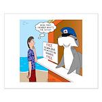 Free Shark SCUBA Dive Small Poster
