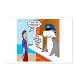 Free Shark SCUBA Dive Postcards (Package of 8)