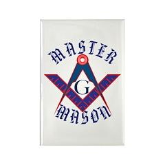 The Master Masons Rectangle Magnet