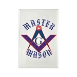 The Master Masons Rectangle Magnet
