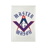 The Master Masons Rectangle Magnet (100 pack)