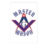 The Master Masons Postcards (Package of 8)