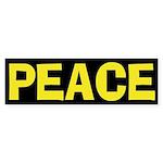 Peace (anti-war Bumper Sticker)