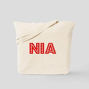 Retro Nia (Red) Tote Bag