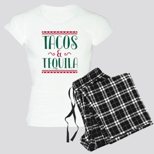Tacos And Tequila Women's Light Pajamas