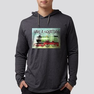 Train Happy Birthday Long Sleeve T-Shirt