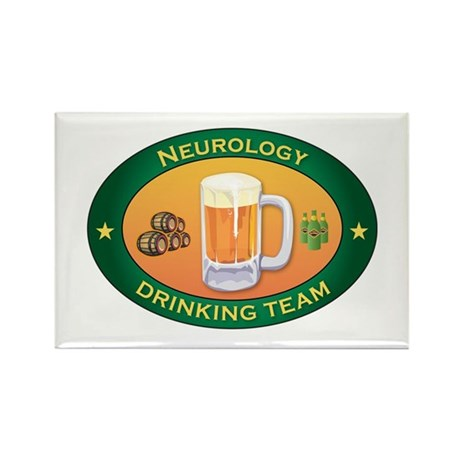 Neurology Team Rectangle Magnet (10 pack)