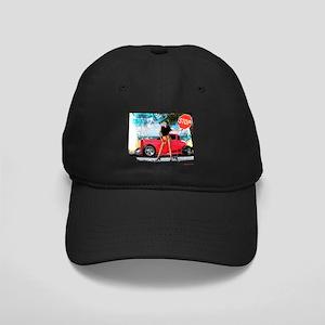 Hot Rod Girl Black Cap