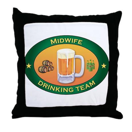 Midwife Team Throw Pillow