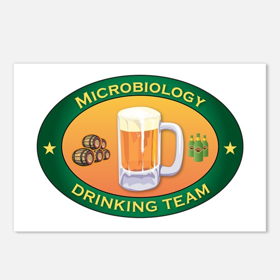 Microbiology Team Postcards (Package of 8)